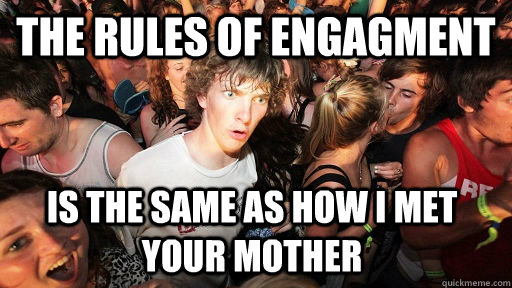 the rules of engagment is the same as how i met your mother - Sudden Clarity Clarence