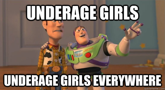 underage girls underage girls everywhere - Toy Story Everywhere