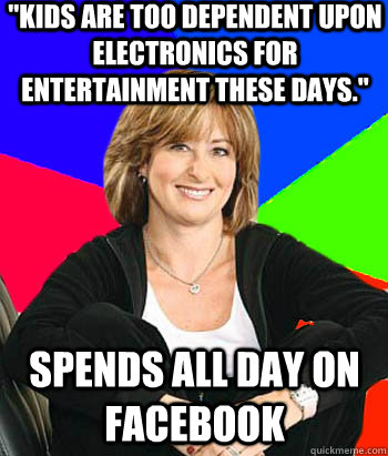 kids are too dependent upon electronics for entertainment t - Sheltering Suburban Mom