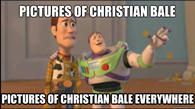 pictures of christian bale pictures of christian bale everyw - Buzz and Woody