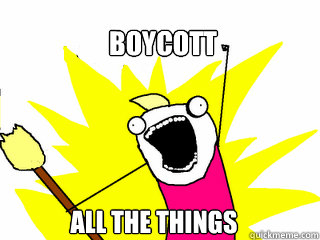 boycott all the things - All The Things
