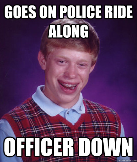 how to go on a police ride along
