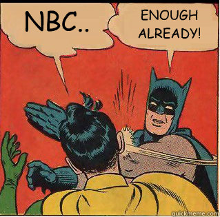 nbc enough already - Slappin Batman