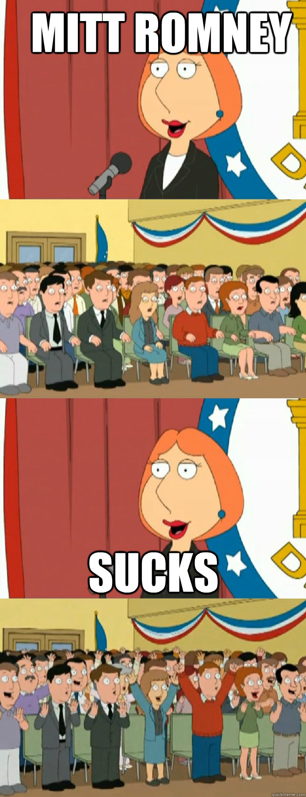 mitt romney sucks - Lois Griffin