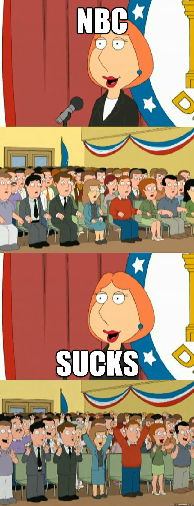 nbc sucks - Lois Griffin