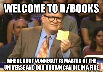 welcome to rbooks where kurt vonnegut is master of the univ - Whose Line