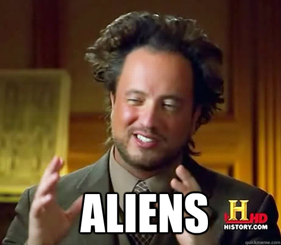  aliens - Ancient Aliens