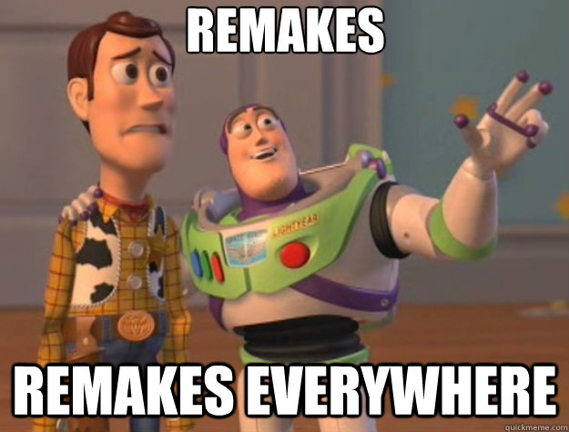remakes remakes everywhere - Toy Story
