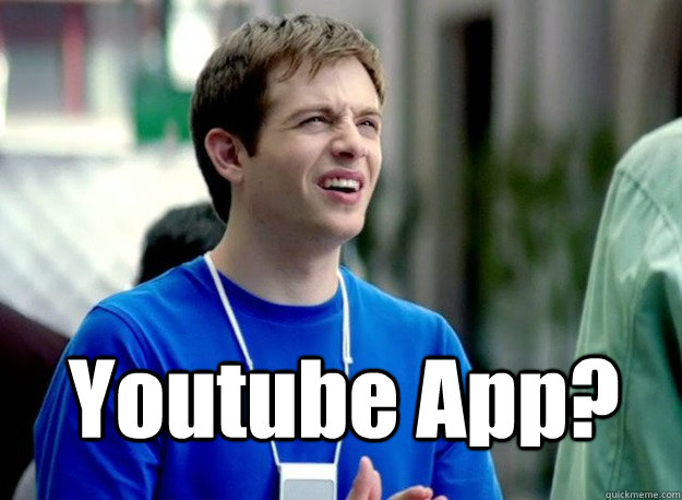 youtube app - Mac Guy