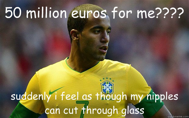 50 million euros for me suddenly i feel as though my nip - Overpriced Lucas Moura ENG