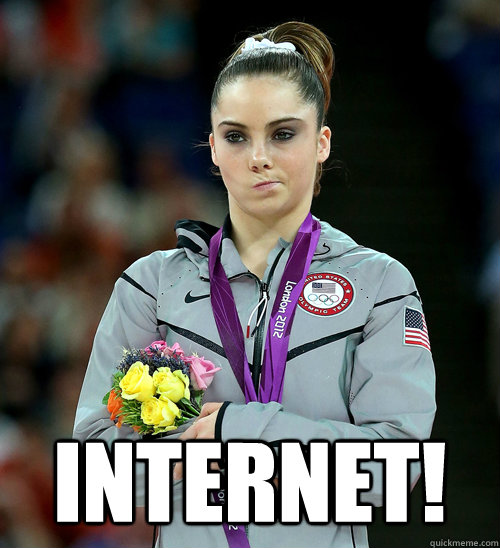 internet - McKayla Not Impressed