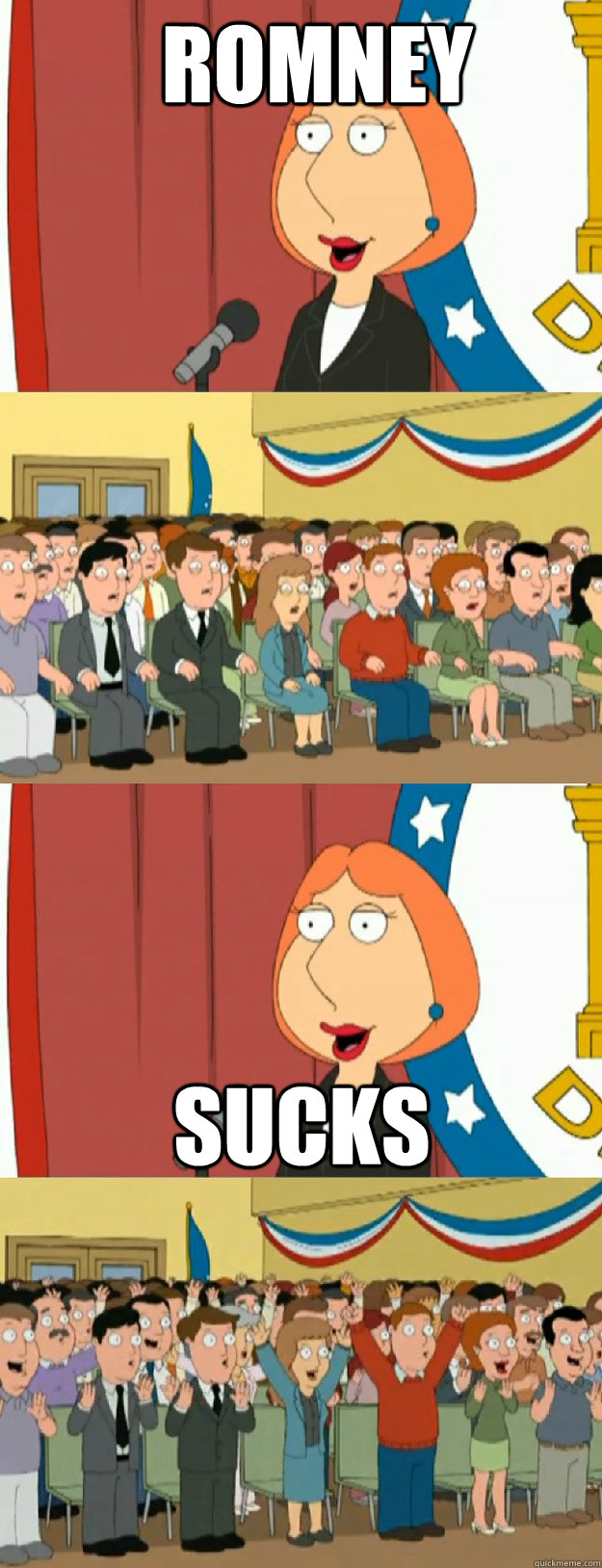romney sucks - Lois Griffin