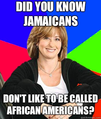 Did you know Jamaicans WATCHES REALITY TV SHOW - Sheltering Suburban Mom