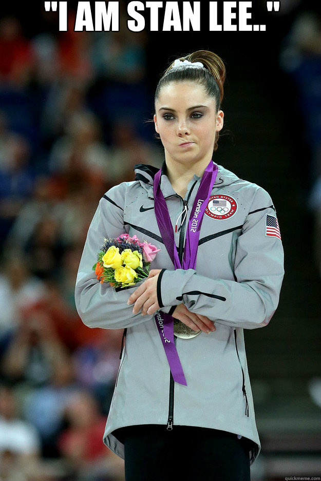 i am stan lee  - Unimpressed McKayla