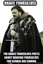brace yourselves the brace yourselves posts about bracing yo - Brace Yourselves