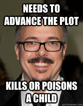needs to advance the plot kills or poisons a child -