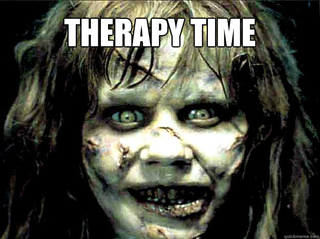 therapy time - Exorcist Girl