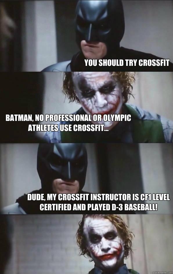 Crossfit sucks meme