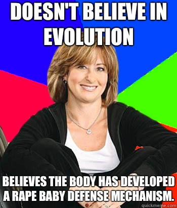 Doesnt believe in evolution Believes the body has developed  - Sheltering Suburban Mom