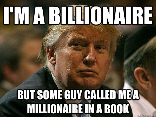 im a billionaire but some guy called me a millionaire in a  - 1% Problems