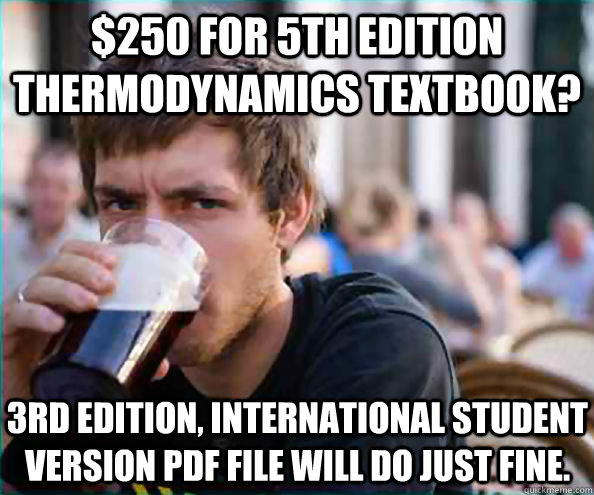 250 for 5th edition thermodynamics textbook 3rd edition i - Lazy College Senior