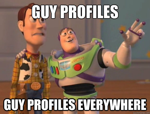 guy profiles guy profiles everywhere - Buzz Lightyear