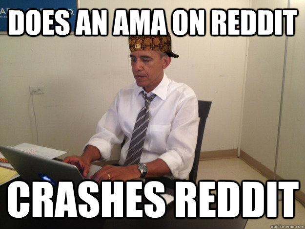 does an ama on reddit crashes reddit -