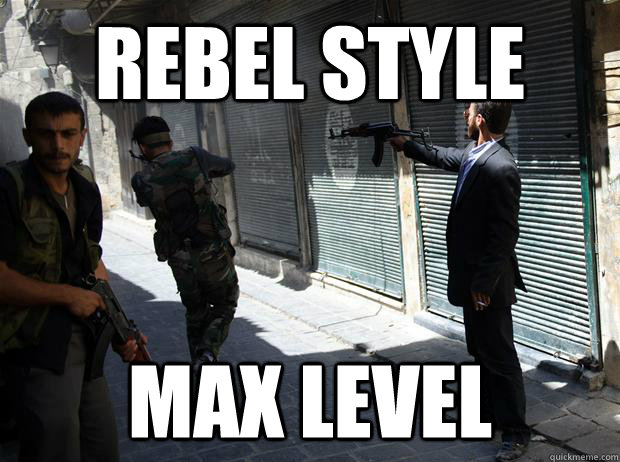 rebel style max level - GQ Syrian Rebel