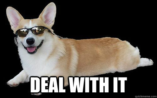 deal with it -