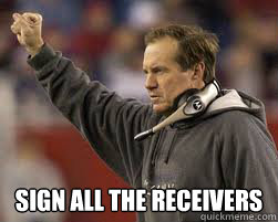 sign all the receivers -
