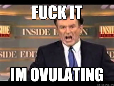 fuck it im ovulating - Bill OReilly Fuck it