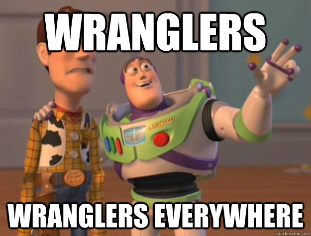 wranglers wranglers everywhere - Buzz Lightyear