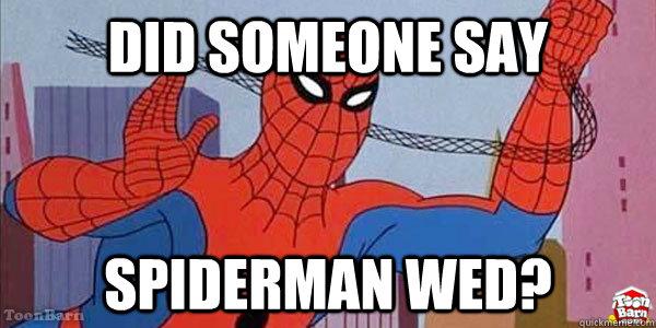 Did someone say spiderman thread - photo#9