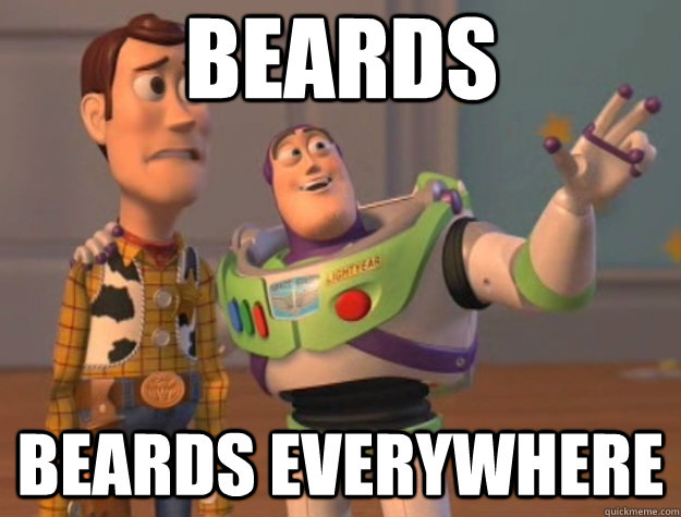 beards beards everywhere - Toy Story