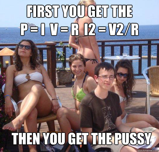 first you get the p i v r i2 v2 r then you get  - Priority Peter
