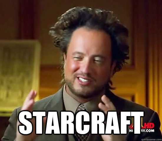 starcraft  - Ancient Aliens