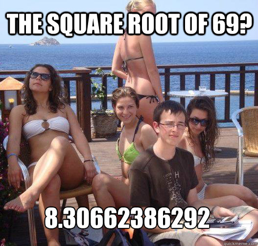 the square root of 69 830662386292 - Priority Peter