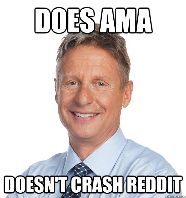 does ama doesnt crash reddit - 