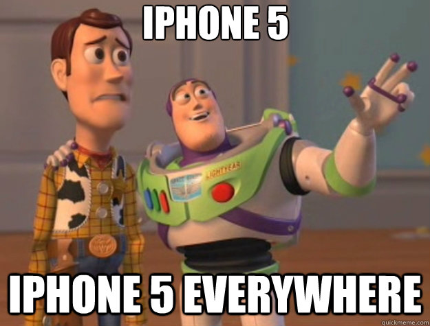 iphone 5 iphone 5 everywhere - Toy Story