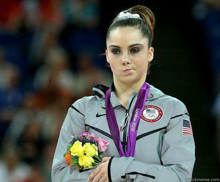 60 - McKayla Maroney is NOT Impressed!