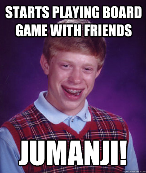 Starts Playing Board Game With Friends Jumanji