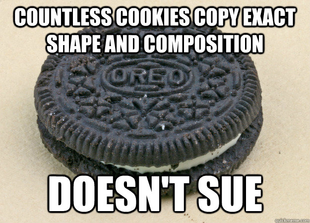 countless cookies copy exact shape and composition doesnt s - Good Guy Oreo