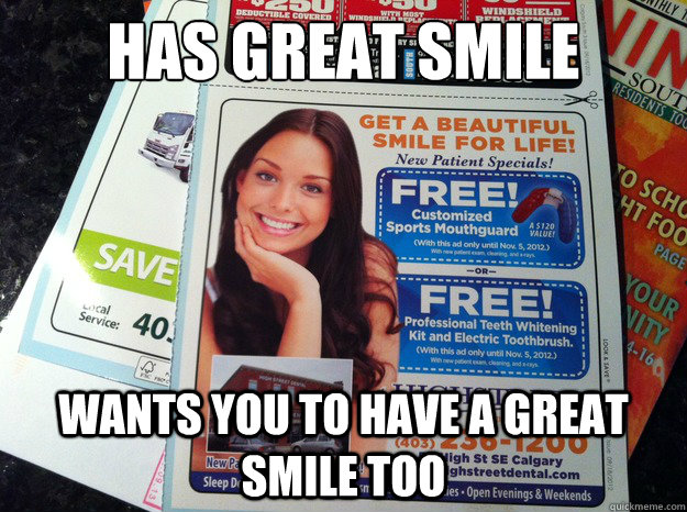 has great smile wants you to have a great smile too -