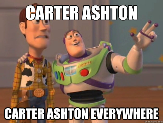 carter ashton carter ashton everywhere - Buzz Lightyear