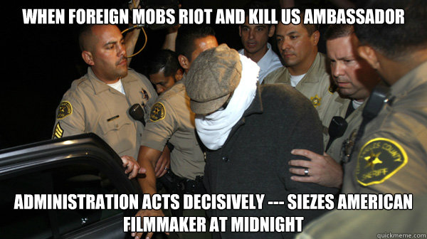 when foreign mobs riot and kill us ambassador administration - Defend the Constitution
