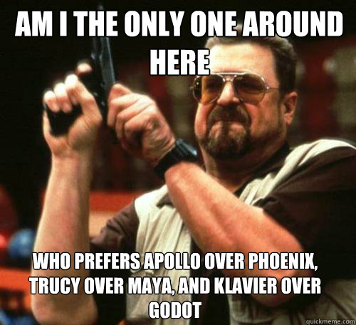 am i the only one around here who prefers apollo over phoeni - Am i the only one