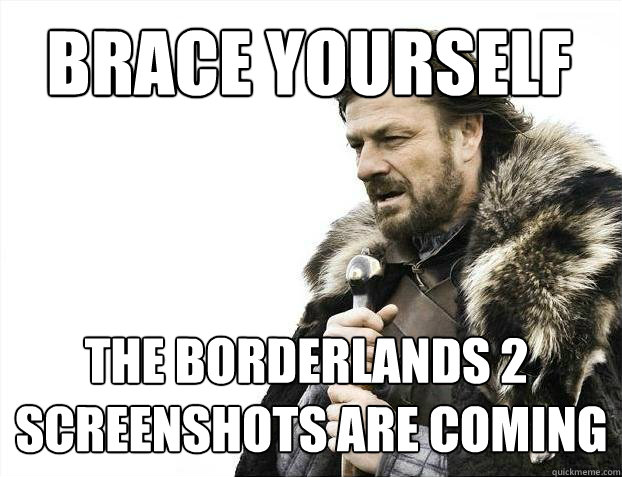 brace yourself the borderlands 2 screenshots are coming - BRACE YOURSELF SOLO QUEUE