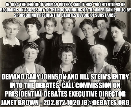 in 1984 the league of woman voters said it has no intention - Good Guy League of Women