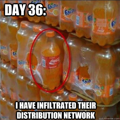 day 36 i have infiltrated their distribution network - Undercover fixed