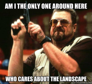am i the only one around here who cares about the landscape - How I feel in multiplayer minecraft